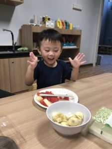 cooking at preschool