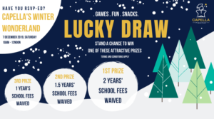 lucky draw capella winter wonderland